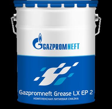 Gazpromneft Grease LX EP 2 - Multipurpose Extreme Pressure Lithium